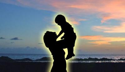 Mother and son is the most beautiful relation of the earth