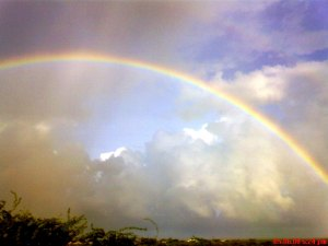 Beautiful rainbow clicked by Jignesh Adhyaru