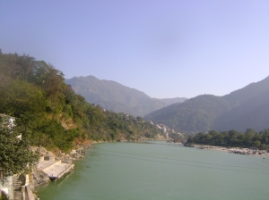 The Ganges from Mountains