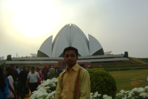 The bahai Temple of worship