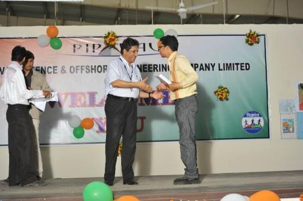 Receiving memento From COOP Shri. Debashis Bir Sir.